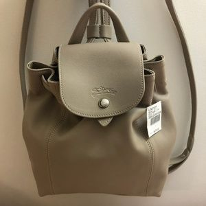 Le Pliage Cuir Backpack XS (Mini) with tags